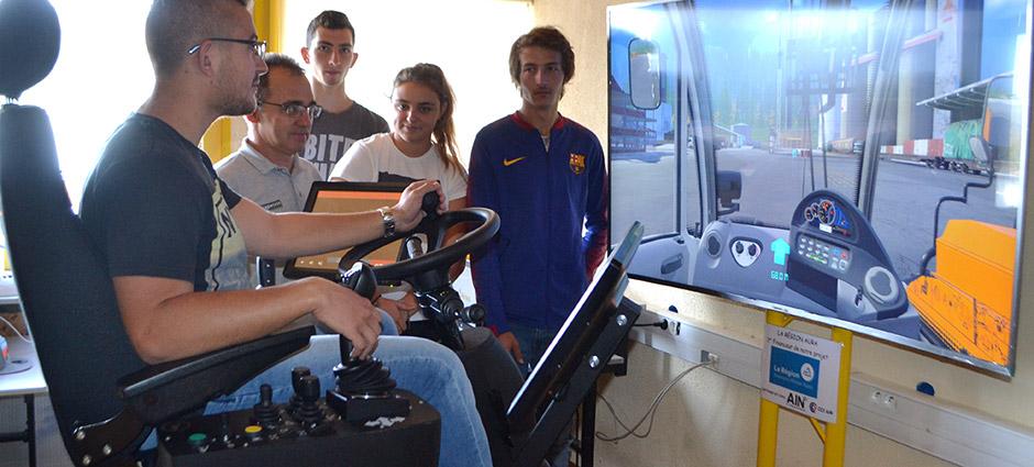 01110 - Cormaranche-en-Bugey - École Technique du Bois Ecole de Production