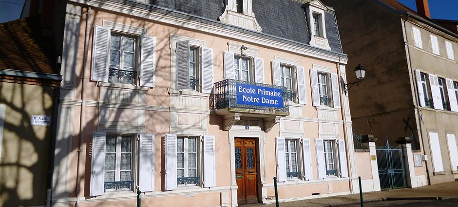 03300 - Cusset - École Maternelle et Primaire Notre-Dame de Cusset