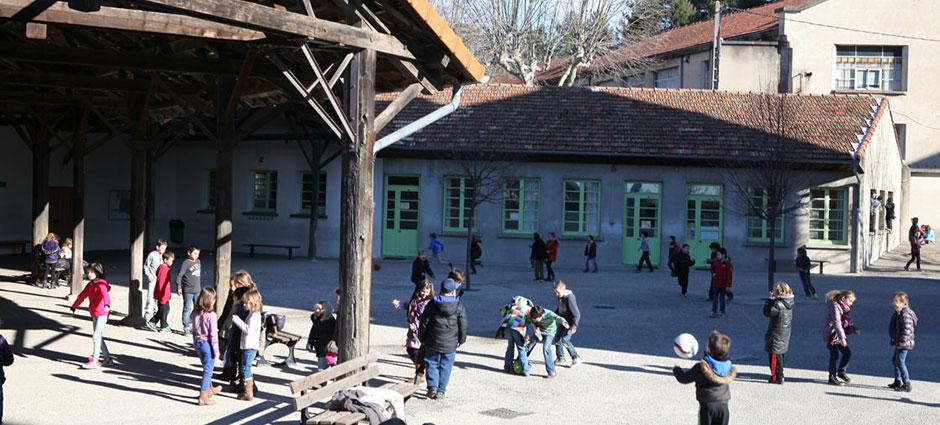 07203 - Aubenas - École Privée Immaculée Conception, Ensemble Scolaire Saint François d'Assise