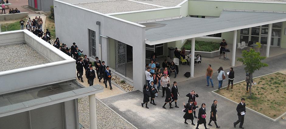 07700 - Bourg-Saint-Andéol - Ensemble Scolaire Marie Rivier, Lycée d'Enseignement Général et Technologique