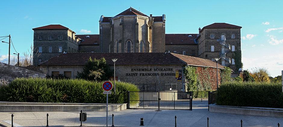 07203 - Aubenas - Internat de l'Ensemble Scolaire Saint François d'Assise