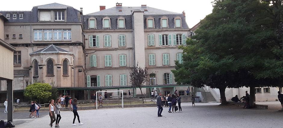 12402 - Saint-Affrique - Collège Privé Jeanne-d'Arc