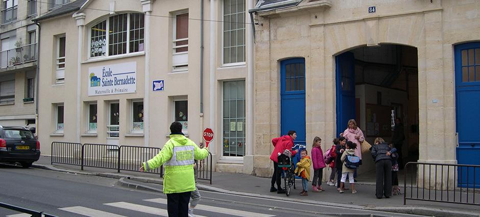 14000 - Caen - École Maternelle et Primaire Privée Sainte-Bernadette