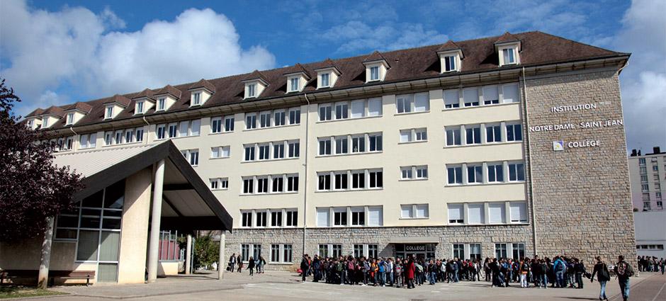 25003 - Besançon - Institution Notre-Dame Saint-Jean Collège Notre-Dame
