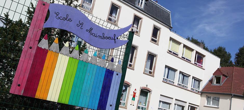 25206 - Montbéliard - École Privée Saint-Maimboeuf