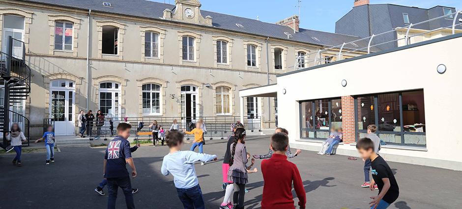 27000 - Évreux - École Saint-Pierre Marie-Cécile