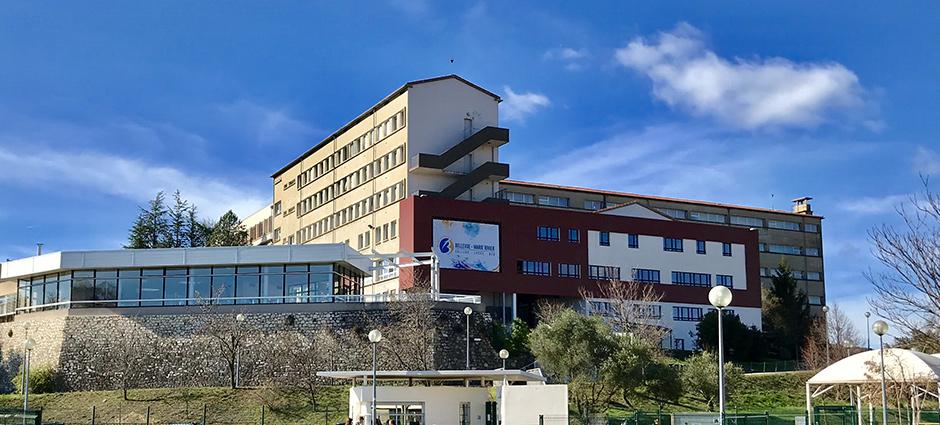 30100 - Alès - Lycée polyvalent privé Bellevue - Marie Rivier