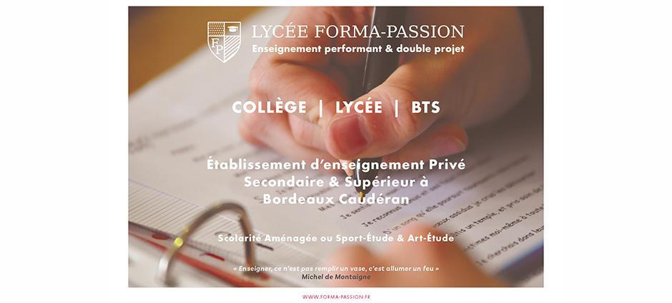 33200 - Bordeaux - Lycée Forma-Passion