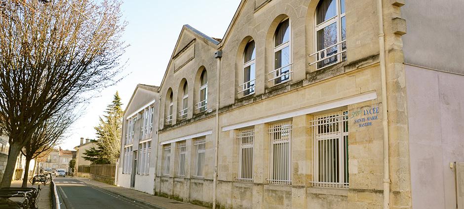 33100 - Bordeaux - Lycée Sainte-Marie-Bastide