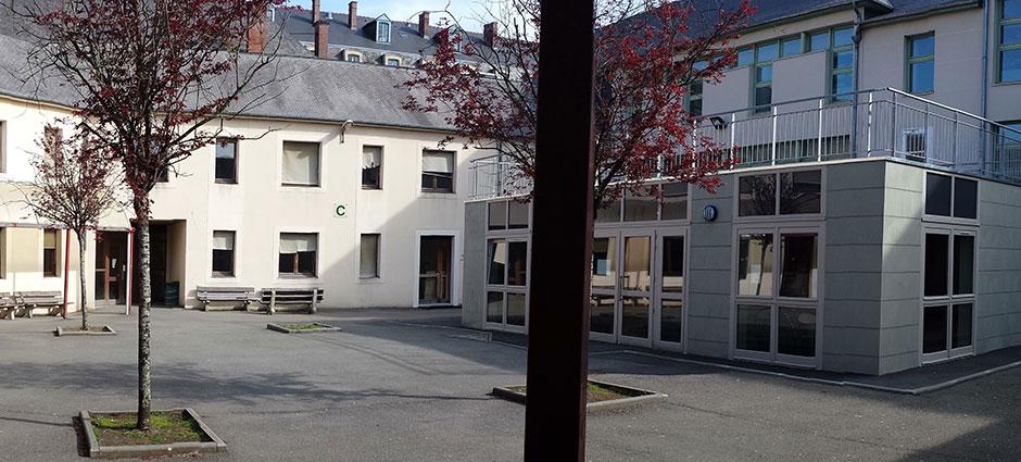 35500 - Vitré - Lycée des métiers Sainte Jeanne d'Arc