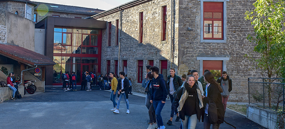 42603 - Montbrison - Ensemble Scolaire Saint Aubrin, Lycée Général et Technologique Saint-Paul-Forez
