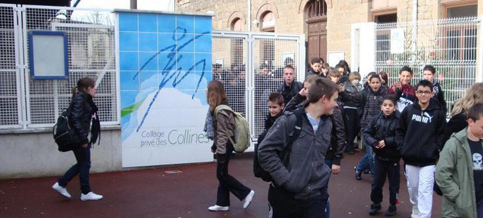 42800 - Rive-de-Gier - Collège Privé, Groupe Scolaire Notre-Dame des Collines