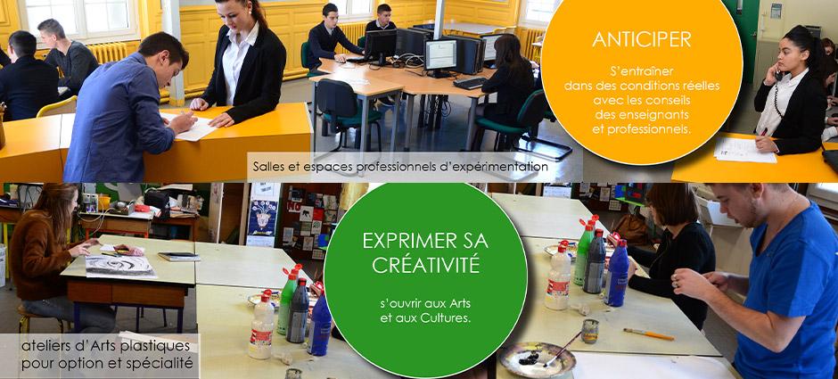 Lycée des Métiers - Ensemble Scolaire St-Jacques de Compostelle  - Lycée d'Enseignement Général Site St-Joseph et Technologique site Anne-Marie Martel