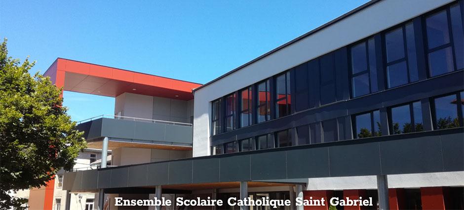 43200 - Yssingeaux - ESCY Saint-Gabriel - Lycée Saint-Gabriel