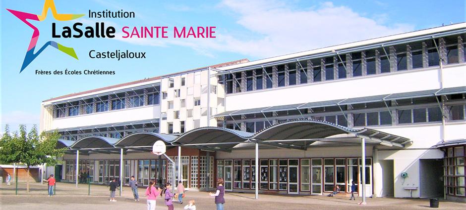 47700 - Casteljaloux - Collège Privé La Salle Sainte-Marie