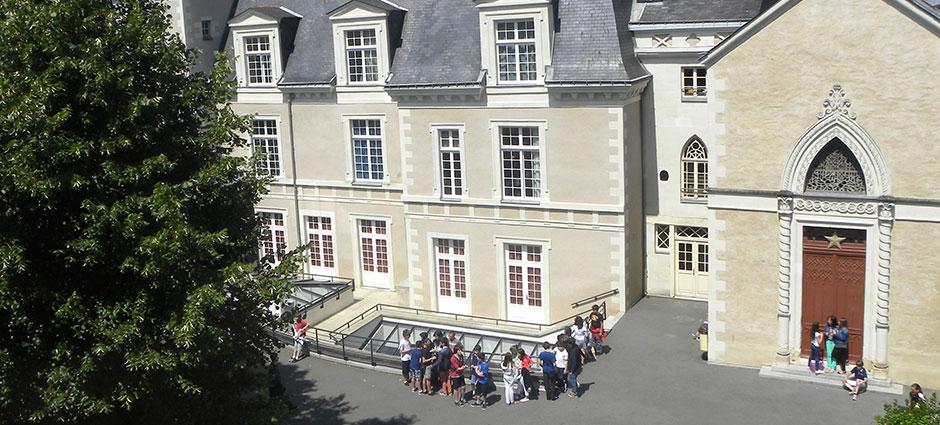 49100 - Angers - Collège privé Saint-Benoît (ancien collège Saint-Martin)