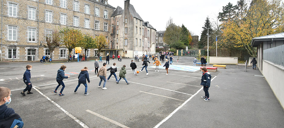 50200 - Coutances - École Privée Jean-Paul II
