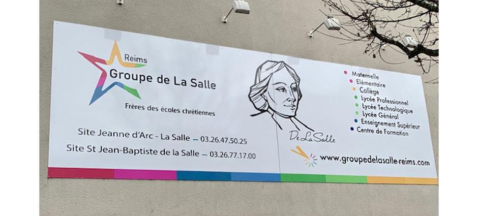 51721 - Reims - Collège Privé Catholique Jeanne d Arc - La Salle