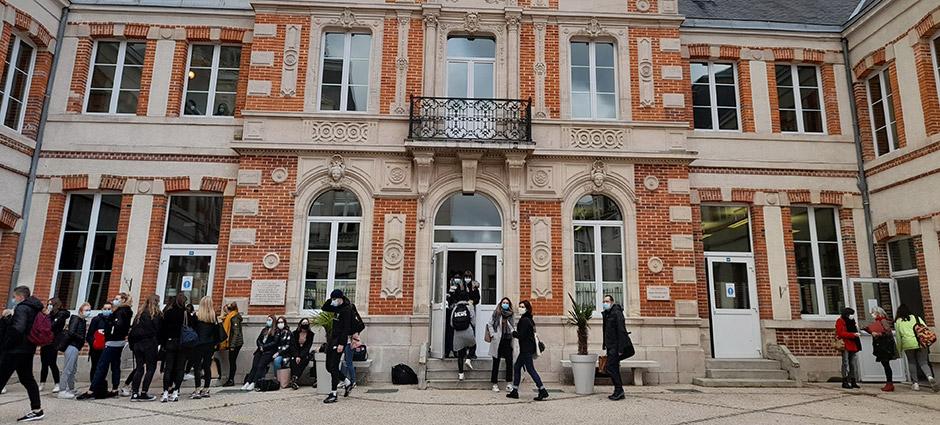 51200 - Épernay - Lycée Professionnel Privé Notre Dame Saint Victor - Sainte-Marie
