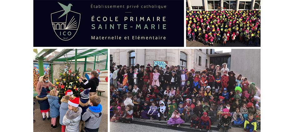 52000 - Chaumont - École Privée Sainte-Marie - Institution Chaumontaise Oudinot