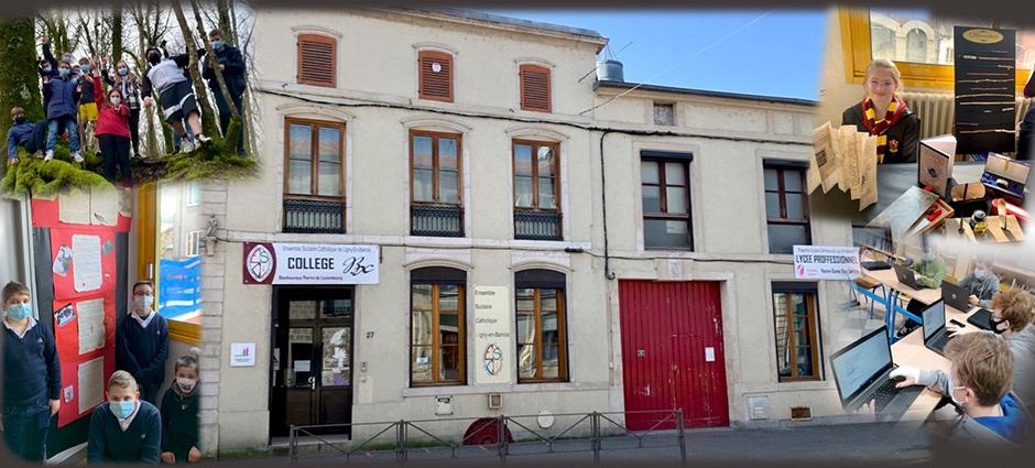 55500 - Ligny-en-Barrois - ESCLI, Collège Bienheureux-Pierre-de-Luxembourg