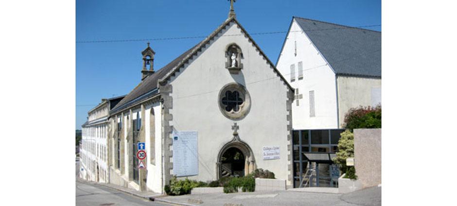 56110 - Gourin - Lycée Privé Mixte Sainte Jeanne d'Arc