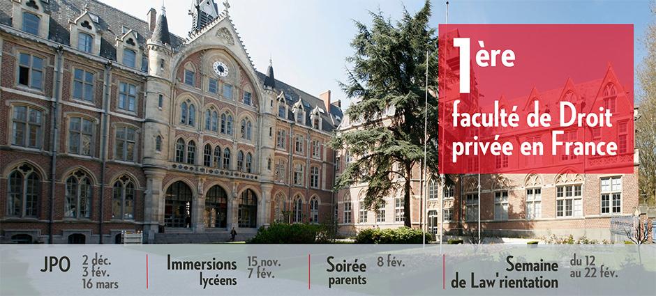 59016 - Lille - Faculté de Droit (Université Catholique de Lille) - Campus Lille