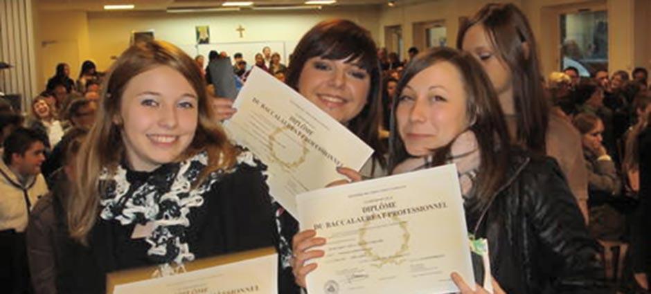 59572 - Jeumont - Lycée Professionnel Privé Catholique Sainte-Bernadette - Centre de formation permanente - Unité de formation par apprentissage