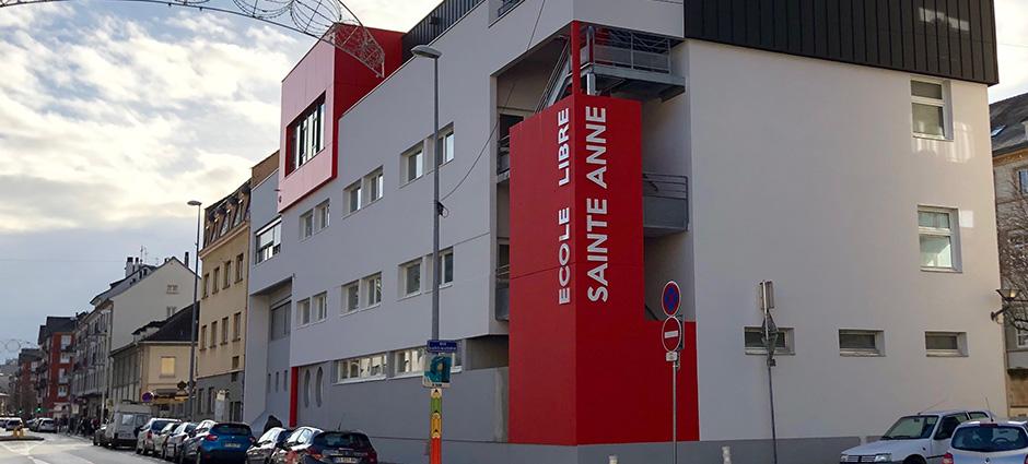 67100 - Strasbourg - Lycée Privé Sainte-Anne