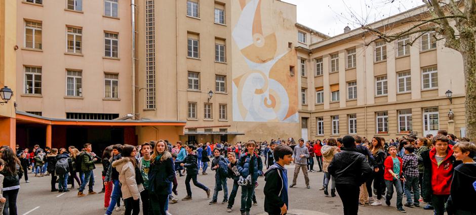 69005 - Lyon 05 - Collège Aux Lazaristes - La Salle, sites Saint-Jean et Saint-Barthélémy