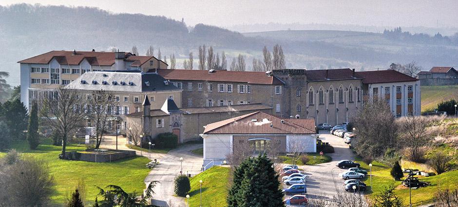 69760 - Limonest - Collège aux Lazaristes - La Salle, Site Limonest