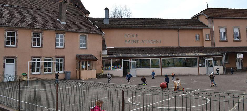 70300 - Luxeuil-les-Bains - École Privée Saint-Vincent