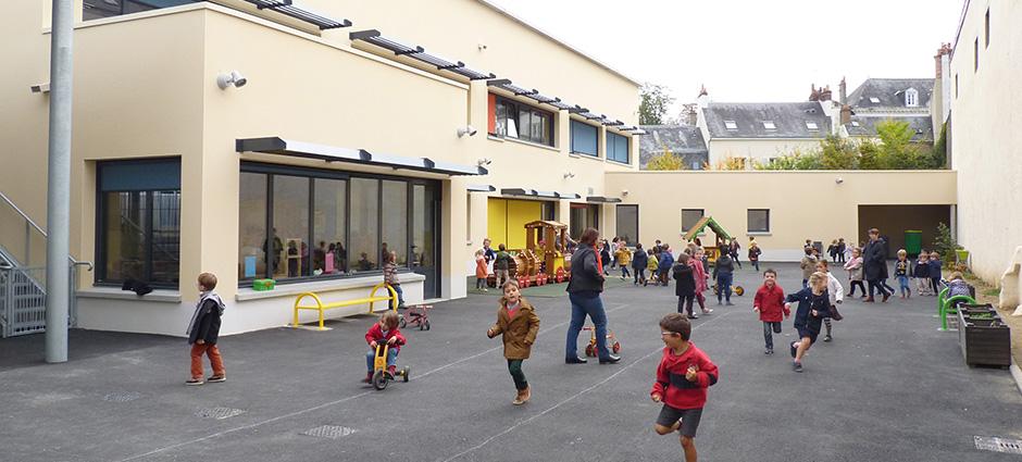 72000 - Le Mans - Ecole Maternelle Sainte-Marie