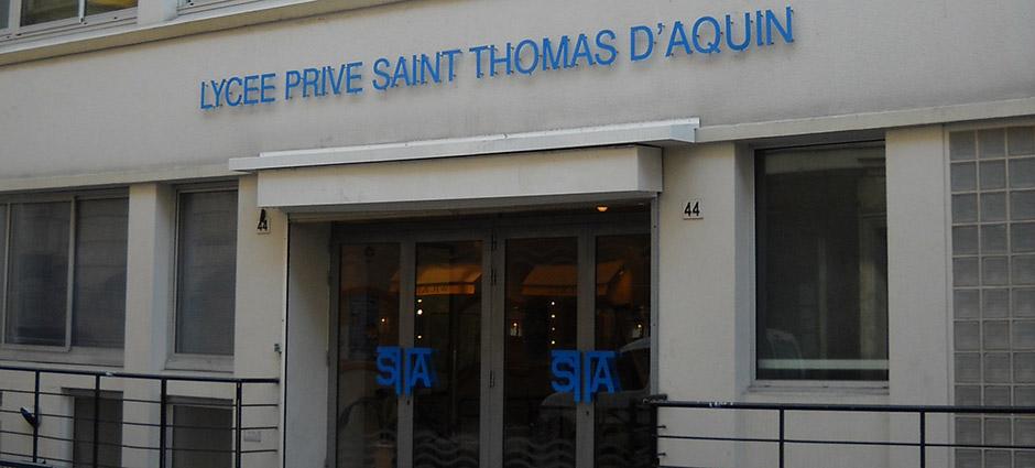 75007 - Paris 07 - Lycée Privé Saint-Thomas d'Aquin