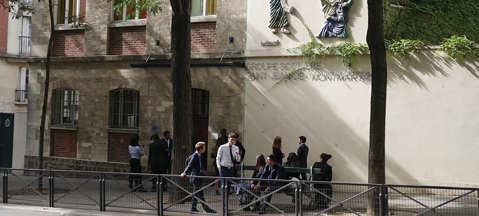 75018 - Paris 18 - Lycée Professionnel et Technologique Privé Saint-Jean de Montmartre