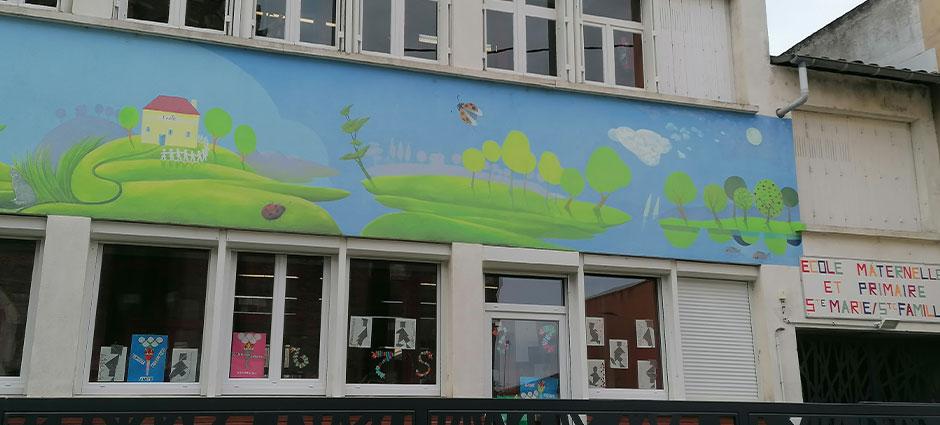 82000 - Montauban - École Privée Sainte Marie - Sainte Famille