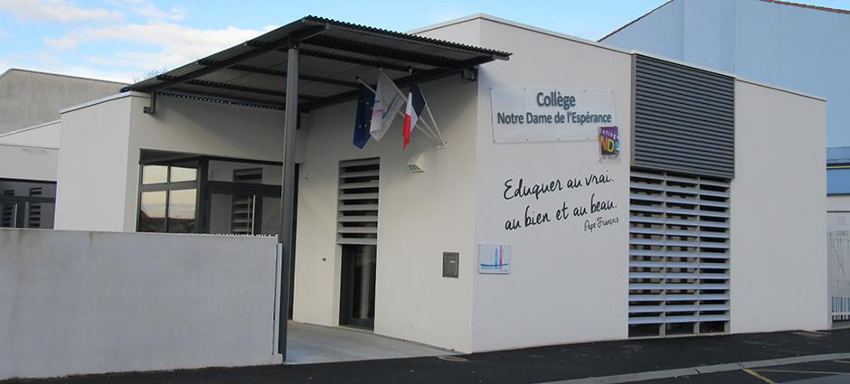 85260 - Les Brouzils - Collège Privé Mixte Notre-Dame de l'Espérance