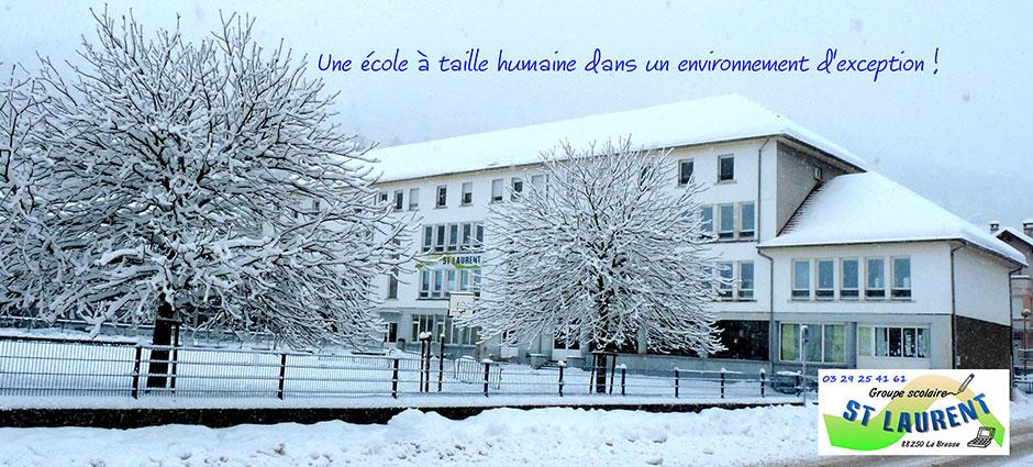 88250 - La Bresse - Internat du Collège Privé Saint-Laurent