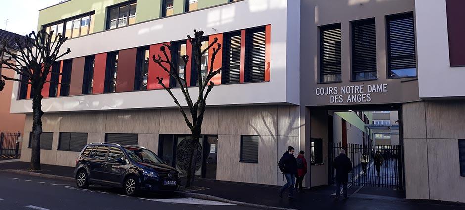 90000 - Belfort - Collège Privé Mixte Cours Notre-Dame des Anges