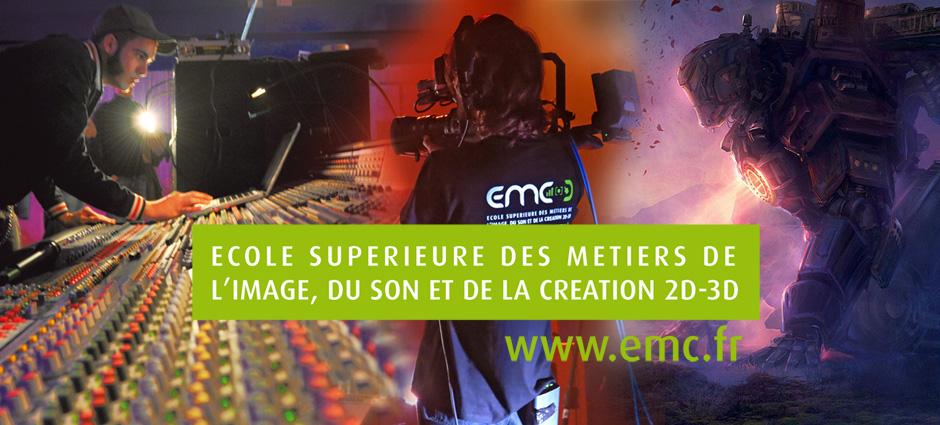 92240 - Malakoff - EMC Ecole Supérieure des Métiers de l'Image, du Son et de la création 2D, 3D