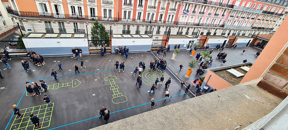 92600 - Asnières-sur-Seine - Institution Sainte-Geneviève École Privée