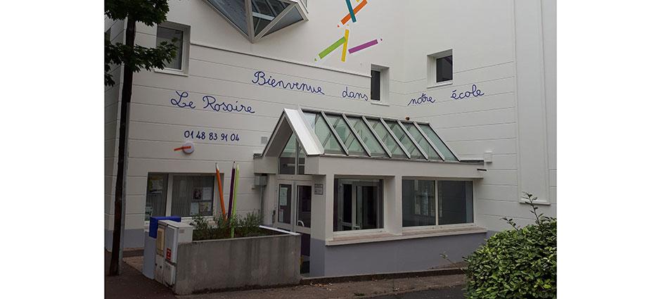 94100 - Saint-Maur-des-Fossés - École Primaire Privée Catholique Mixte Le Rosaire