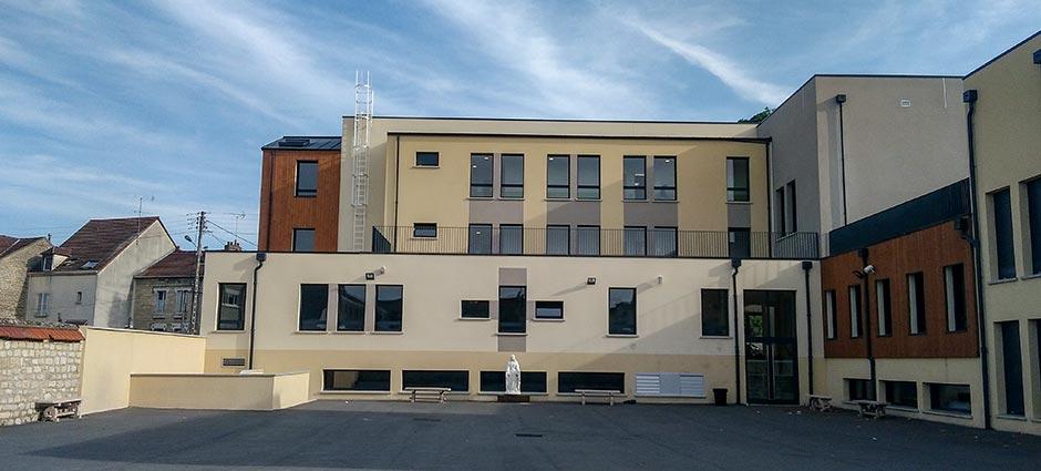 95260 - Beaumont-sur-Oise - Collège Privé Sainte Jeanne d'Arc