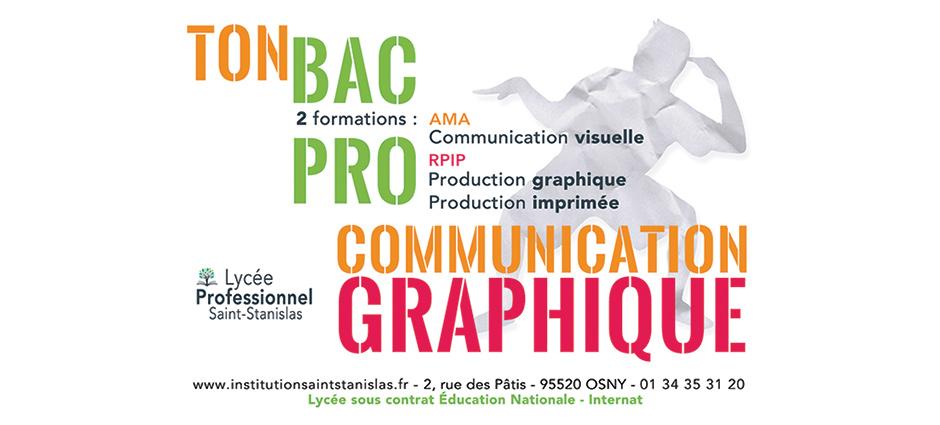 95520 - Osny - Lycée Saint-Stanislas, Lycée professionnel de la Communication et des Industries Graphiques
