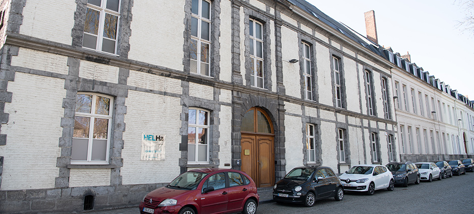 B7500 - Tournai - Haute Ecole Louvain en Hainaut (HELHa), Ecole d'Infirmiers(ères), ITEHO Jeanne d'Arc