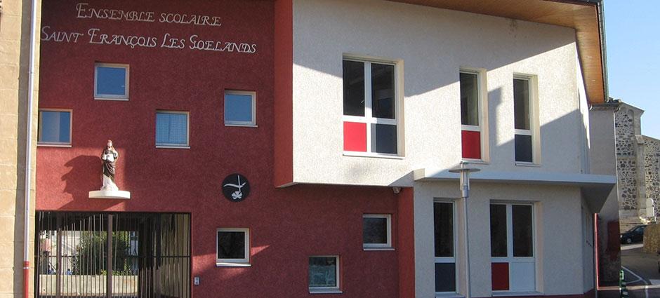 26140 - Saint-Rambert-d'Albon - École Privée Saint-François Les Goélands