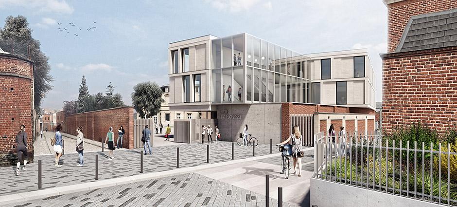 59306 - Valenciennes - Lycée Privé La Sagesse et Centre de formation