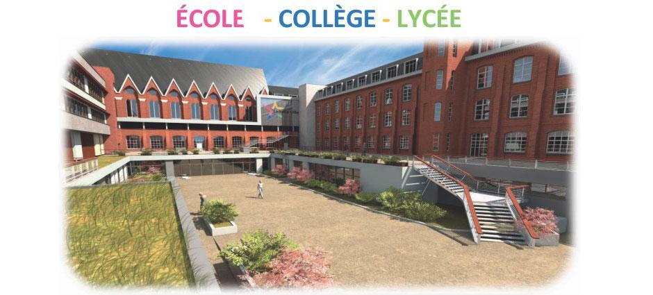 Ensemble Scolaire La Salle Lille, Collège