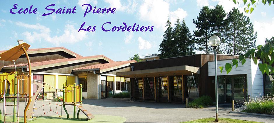 74600 - Annecy - École Primaire Saint-Pierre des Cordeliers