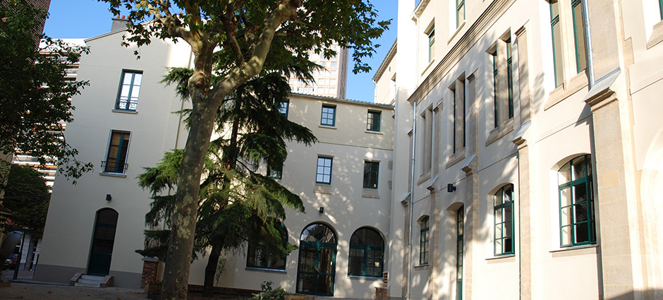 75013 - Paris 13 - Groupe Scolaire Saint-Vincent-de-Paul, Lycée Polyvalent Privé Notre-Dame